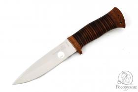 Нож Fox-1 (рукоять - кожа)
