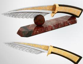 Нож офисный «Перо»