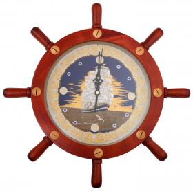 Часы  Свежий ветер в штурвале