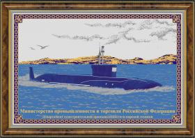 Гравюра Подводная лодка
